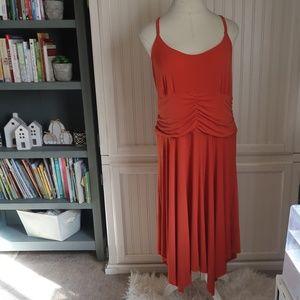 ASHLEY STEWART ORANGE DRESS 18W
